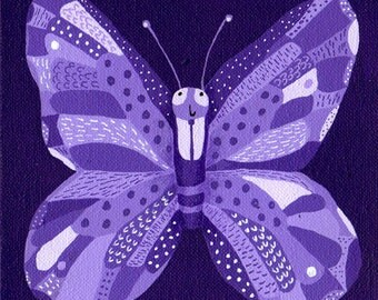 Blade butterfly, in the collection 'Retrats Bestials'