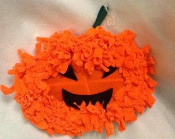 Pumpkin Halloween wreath
