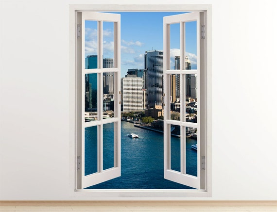 3D Sydney Wall Decal by 3DWindowWallStickers