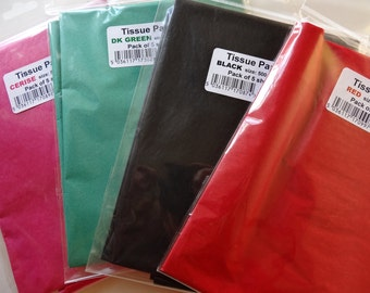 Pack of 5 sheets of 50x75cm Tissue Paper