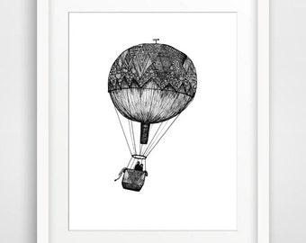 Away We Go-  Printable Art, Downloadable Print, Wall Print, Home Decor