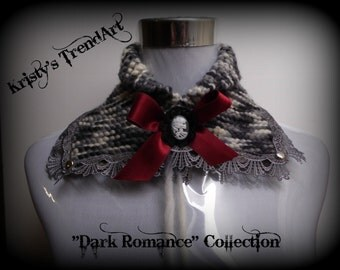 """Cantilever formwork """"Gothic Lolita"""" Red"""