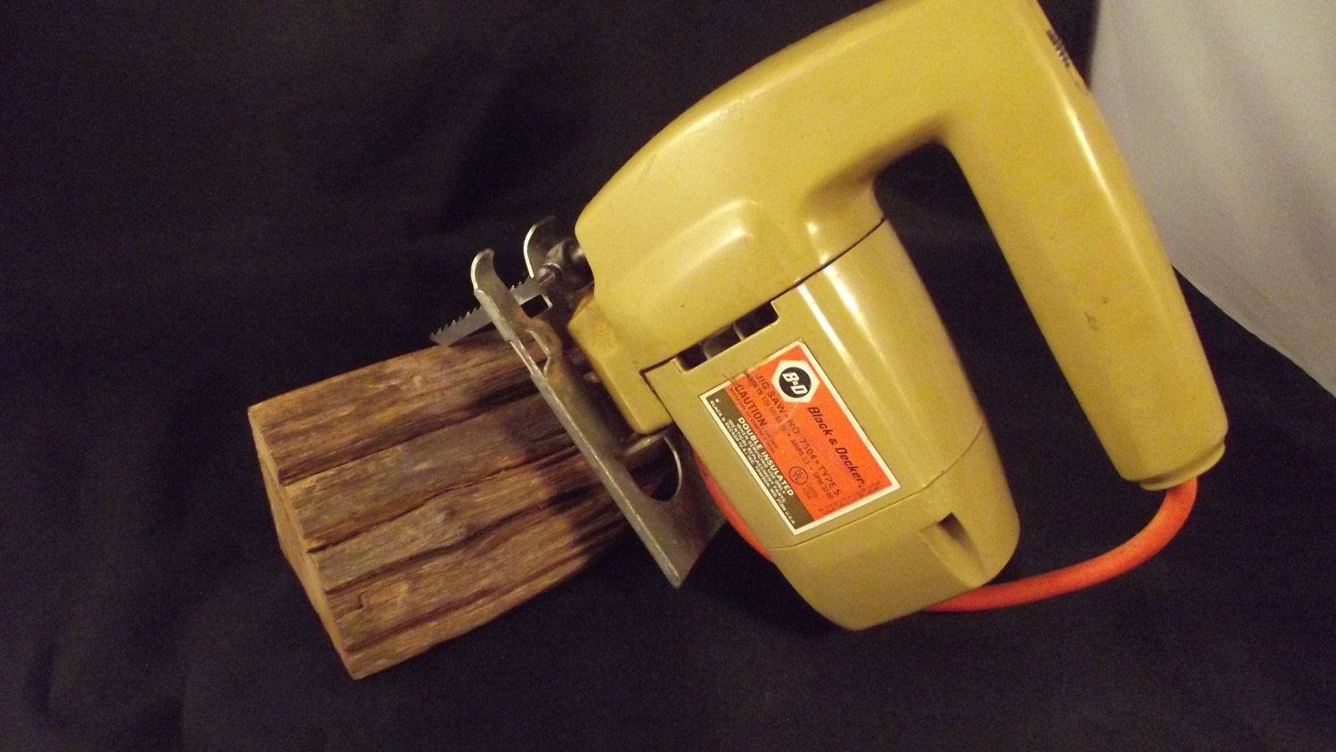 Vintage Black and Decker Jig Saw Model No. by ...