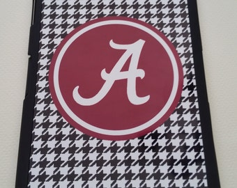 Alabama Crimson Tide Houndstooth IPad Mini Case Personalized