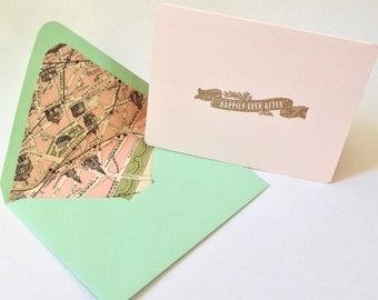 Set of Two, Parisian Wedding Cards