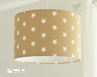 Lampshade, lamp, stars
