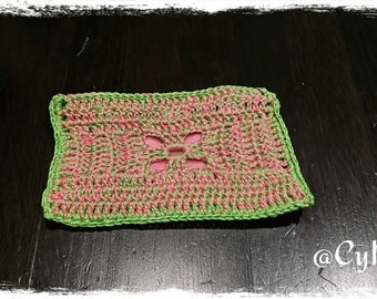 Original crochet purse