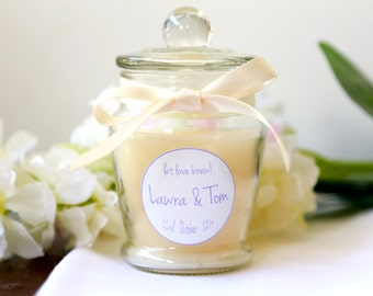 Hand Poured Soy Candle, Completely Custom