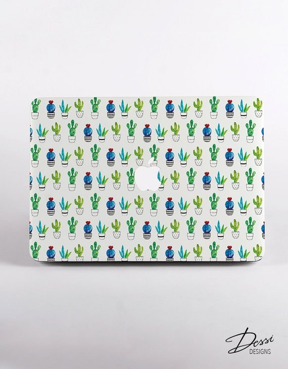 cactus en plastique dur de mod lisme de macbook par dessidesigns. Black Bedroom Furniture Sets. Home Design Ideas