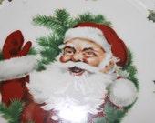 Merry Christmas Plate for Home Decoration Especially During the Holiday Season, Christmas Season Plate, Home Decoration During The Holidays