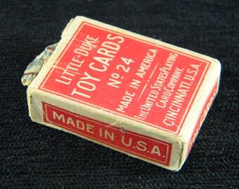 Vintage Little Duke Toy Cards No 24