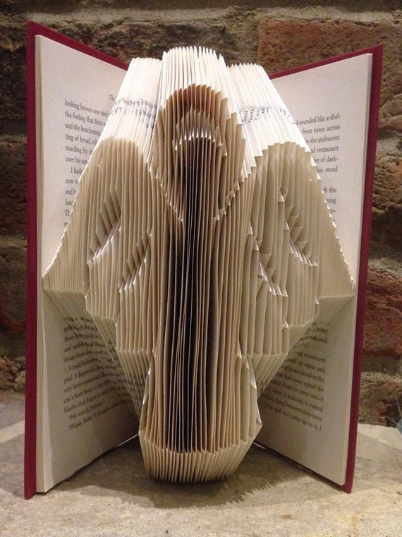 Book Folding Pattern For An Angel With Only 152 Folds