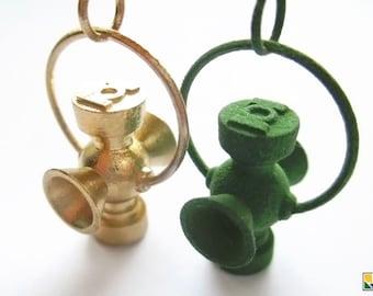 Green Lantern Charm