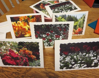 Blank Greeting Cards: Floral Photographs
