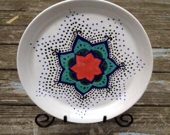 Wheel Thrown Plate (11in)