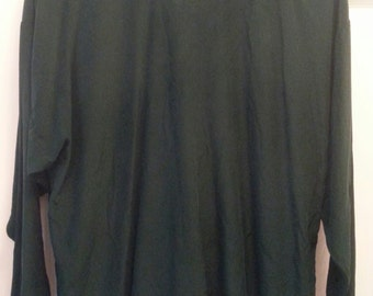 Jade Green Blouse Size Large