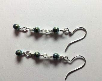 Hemitite earrings