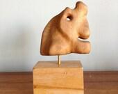Mid Century Modern Abstract Wood Sculpture