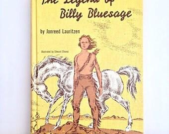 The Legend of Billy Bluesage by Jonreed Laritzen, 1961