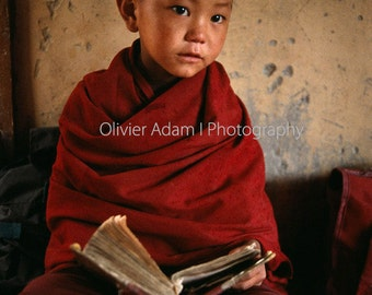 Young Ladakhi monk, India, 2002
