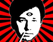 "Items similar to Bill Hicks ""third eye"" 11x17 poster *Free ..."