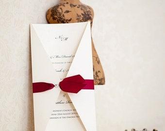 Leda Wedding Invites, Wedding Stationery, Wedding Invitations, Personalised Invitations, Wedding Cards, Party Invitations, Luxury