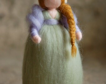 Daphne, Waldorf inspired fairytale wool