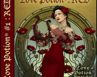 Love Potion: RED - for Women - Handcrafted Perfume - Love Potion Magickal Perfumerie