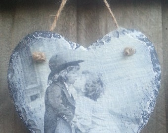 Heart plaque.