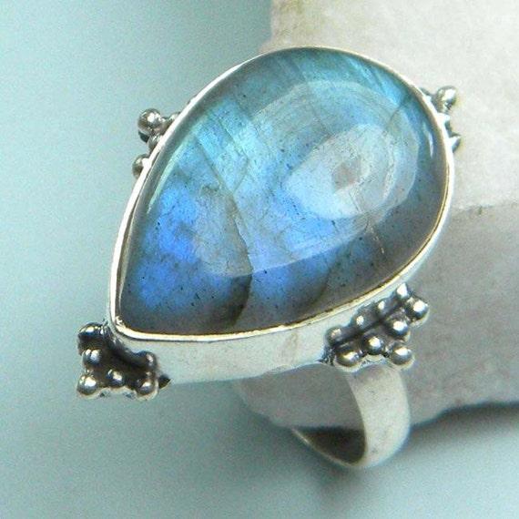 labradorite ring labradorite ring silver ring