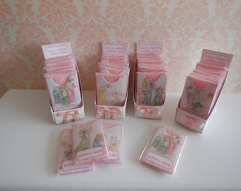 1:12 DOLLHOUSE Exhibitor girl tights pink