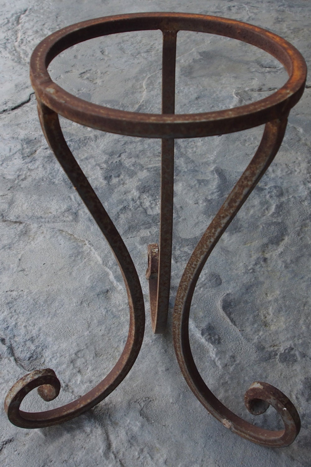 Iron Table Legs : Iron table legs metal table legs 16 tall rustic by limegreyhouse