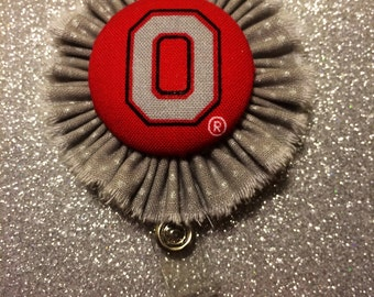 OSU Retractable Badge Holder. ID Holder.