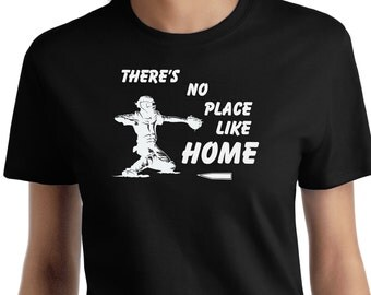 There's no place like home Catchers Softball T shirt