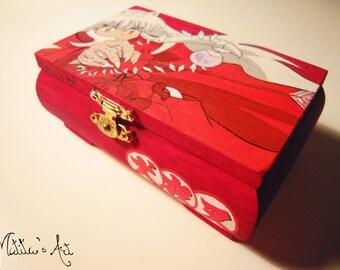 Inuyasha hand painted boxes series /  Inuyasha Box