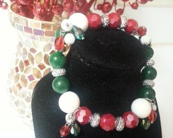 12 Days of Holiday bracelet