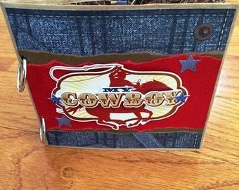 Cowboy Scrapbook - Cowboy Photo Album -  Premade Scrapbook - Western Scrapbook - Paperbag Scrapbook