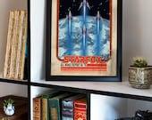 Retro Starfox Poster...