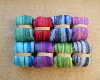 Needle felting - merino wool  - wet felting - spinning
