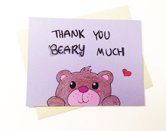Cute Thank You Cards  Zazzle