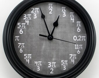 PERSONALIZED Calculus Math Teacher's WALL CLOCK