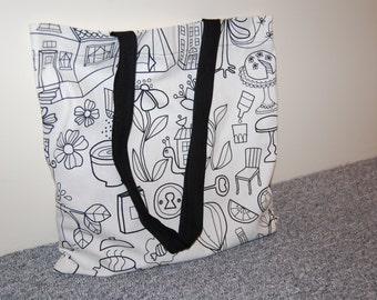 Shopping bag, swimming pool bag, beach bag. Free shiping