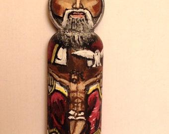 Holy Trinity Peg Doll