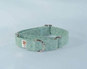 Vines & Leaves Dog Collar, Personalized, Engraved, ID Buckle