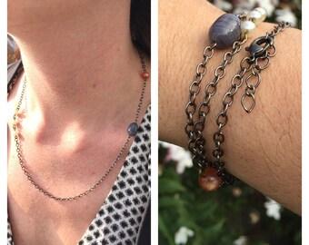 Unique Necklace/Bracelet combo