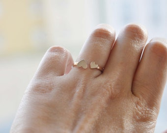 Heart, Love ring, sweet heart, Bridesmaids Heart Ring, Wedding Ring, heart ring