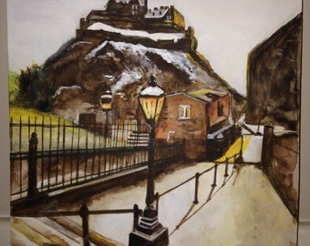Original Painting of Edinburgh Scotland