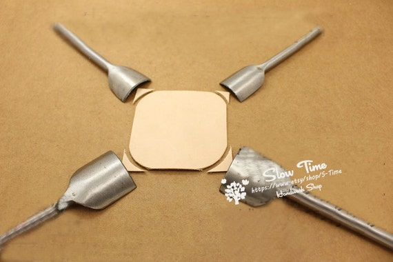 1 4 Shallow Circular Round Corner Punch Cutter Leather