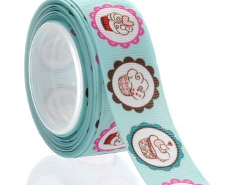 "7/8"" Scrapbook Cupcakes Grosgrain Ribbon - 5yds"