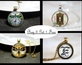 Necklace Special - Buy 3 Get 1 Free